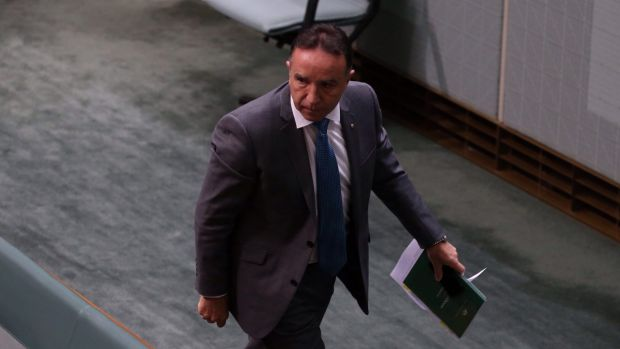 """""""Only weak parties lose their composure and unity of purpose when challenged.  We are not that party"""": Andrew Nikolic."""