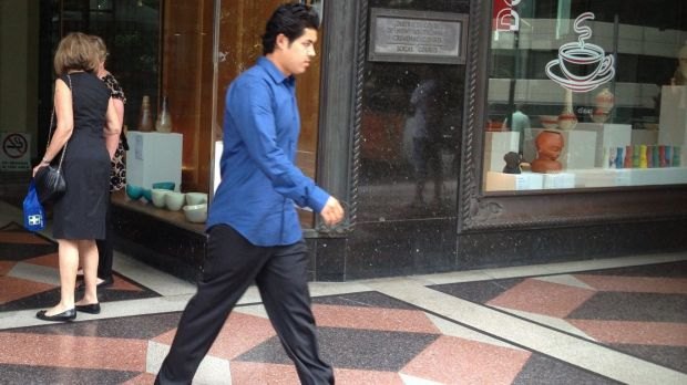 Ahmad Saiyer Naizmand was given a suspended sentence for travelling on his brother's passport.