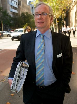 Solicitor David Forster in 2011.