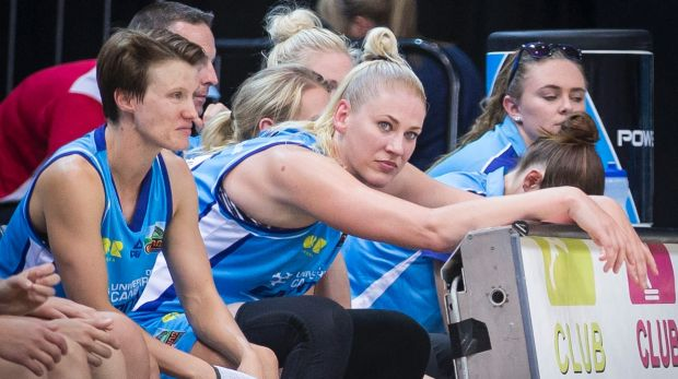 Setbacks: Lauren Jackson has been fighting injuries for years.