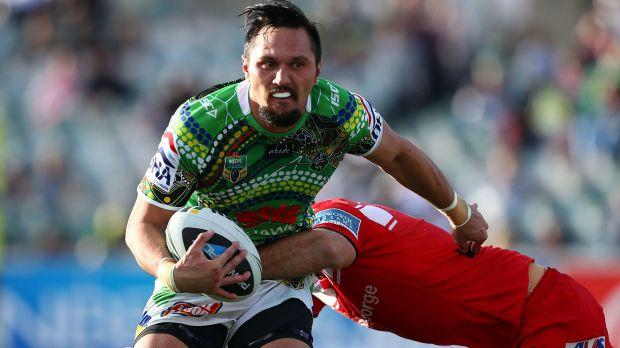 Jordan Rapana is ready for his Canberra Raiders comeback.