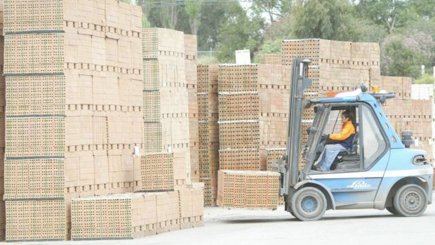 Lindsay Partridge says it's cheaper for the east coast market to source bricks from Spain than from Perth.