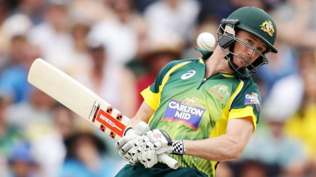 Run drought: George Bailey is fighting for his World Cup berth.
