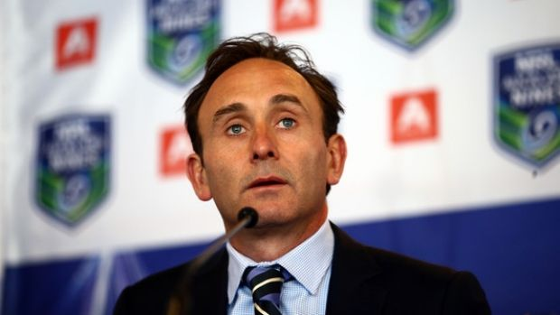 Gone: The NRL's former head of commercial Paul Kind.