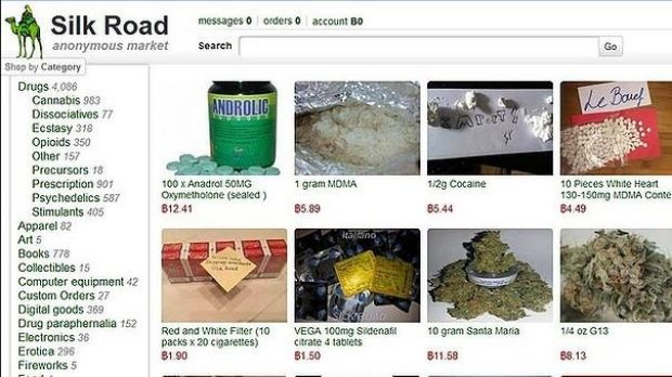 The Silk Road 'anonymous market' sold electronics, art and apparel but also drugs and other illegal goods.