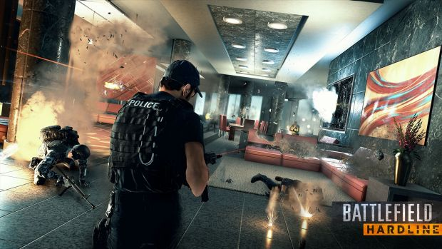 Hardline brings Battlefield into a less realistic, cinematic fantasy world.