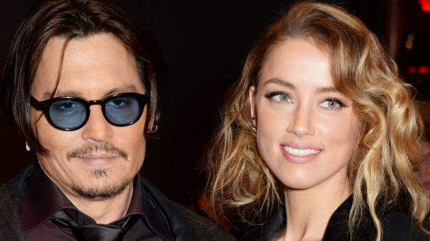 "Hitched: Johnny Depp and Amber Heard are married according to ""sources""."