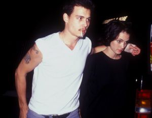 Never forget: Johnny Depp and Winona Ryder were once engaged.