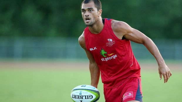 """""""He is a very good player and the quicker he gets into the Wallabies setup the better. But he is an out and out outside ..."""