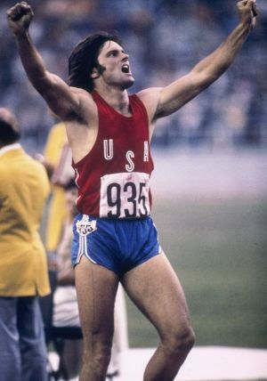 Jenner at the 1976 Olympics.