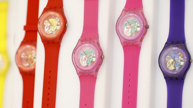 Swatch is famous for colourful plastic watches, but also produces most of the technology needed for a smartwatch.