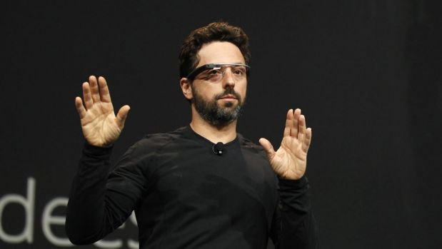 """Google's co-founder Sergey Brin joined hundreds protesting at San Francisco airport. """"I'm here because I'm a refugee,"""" ..."""