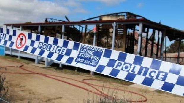 Fire investigators and police crime scene investigators are working to establish a cause of the blaze which destroyed ...