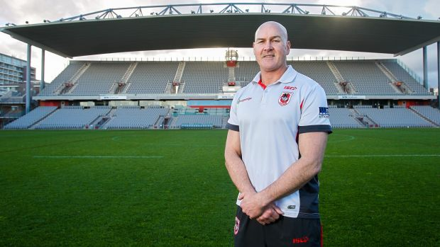 No charity: St George Illawarra coach Paul McGregor.