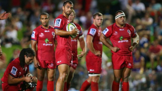 In control: Karmichael Hunt, pictured in Cairns last week.