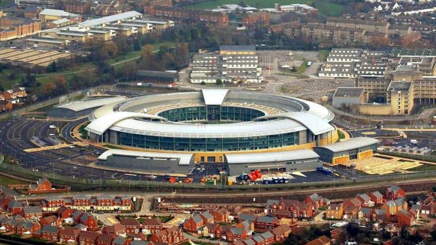 The headquarters of Britain's Government Communication Headquarters (GCHQ).