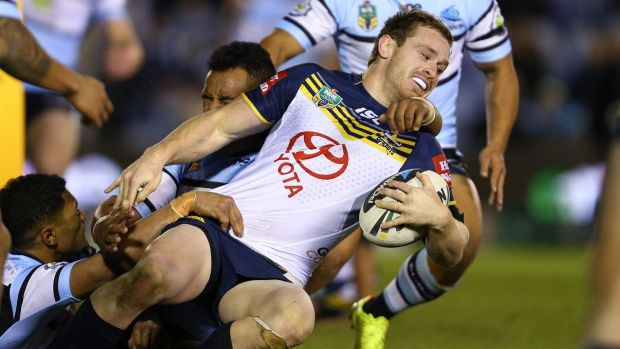 Tied up: Michael Morgan is staying with the North Queensland Cowboys.