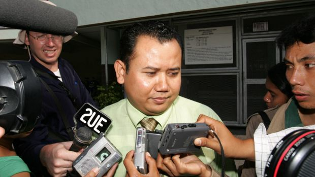 Muhammad Rifan, seen here in 2006, detailed corruption allegations before the executions took place.