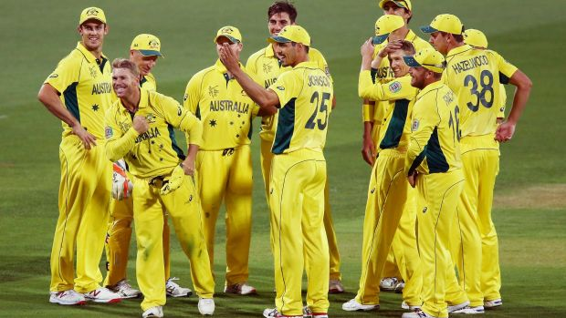 All gold: Australia are in fine form heading in to the World Cup.