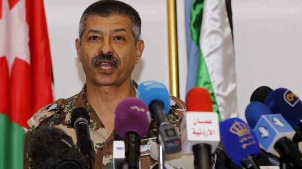 General Mansour al-Jbour, head of the Jordanian air force, says his country intensified its attacks on Islamic State ...