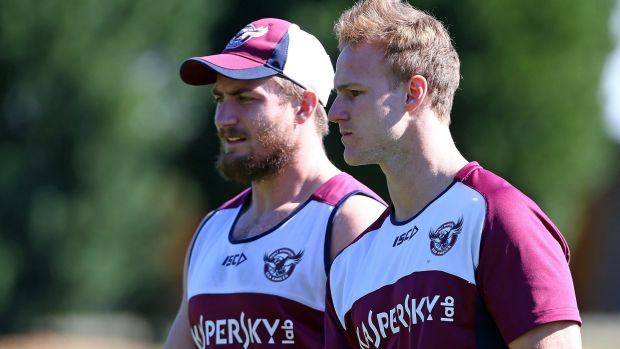 In demand: Kieran Foran and Daly Cherry Evans.