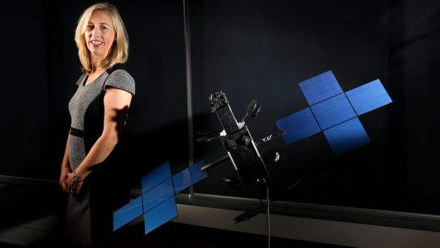 """Launch of broadband satellites will be """"nerve-wracking"""": Satellite architect Julia Dickinson, head of NBN Co."""