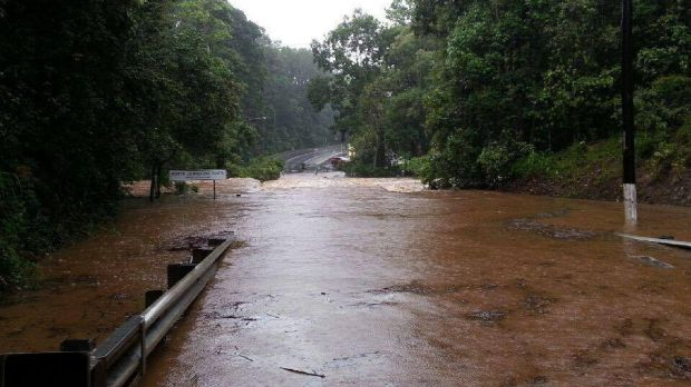 Flooding in far north Queensland earlier this week.
