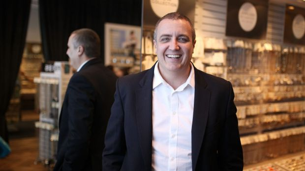 Lovisa chief executive Shane Fallscheer. The company's shares slid as much as 40 per cent on Thursday.