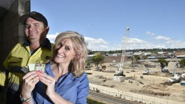 Wallet found at Gardentown construction site by excavator driver Paul Nuttall and returned to owner, Lauren Huskisson. ...