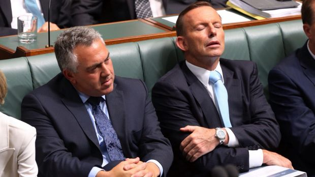 Reports suggest Mr Abbott is under pressure to replace Mr Hockey as Treasurer.