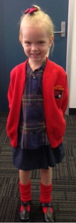 A six-year-old girl police are searching for after she was taken from Ascot State School.