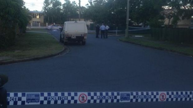 A man aged in his 20s is dead after a stabbing in Logan.