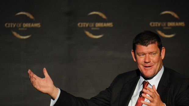 A penthouse from James Packer's new Barangaroo hotel-casino complex would be a contender for the first in Australia to ...
