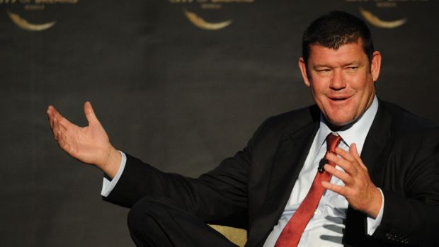 "James Packer ... ""As an Australian investor in China and Macau, it's very hard to be critical of a corruption crackdown."""
