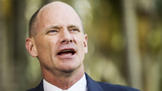Former premier Campbell Newman.