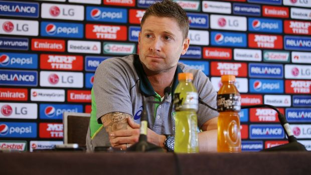 Back on top: Michael Clarke.