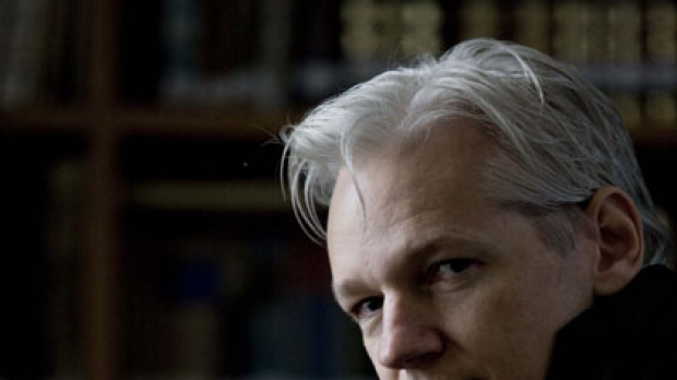 Julian Assange ... accused.