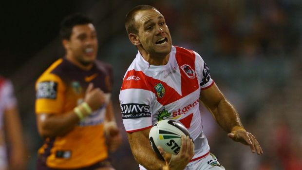 Veteran performer: Dragons winger Jason Nightingale.