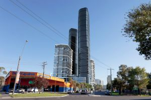 An artists' impressions of Vicland's proposed mixed use development at Fishermans Bend.