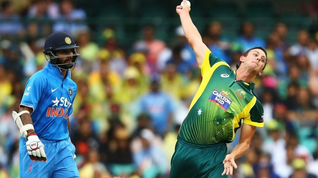 In the selection frame: Josh Hazlewood.