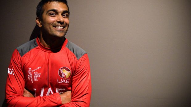 Khurram Khan is excited to play at the MCG.
