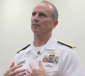 US Chief of Naval Operations Admiral Jonathan Greenert says a study is considering options for naval co-operation with ...
