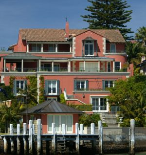 The Point Piper home commands sweeping views of Sydney Harbour.