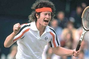 John McEnroe in his heyday.