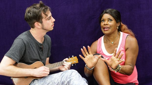 'I started calling you mum after 10 minutes': Brendan Maclean and Marcia Hines.