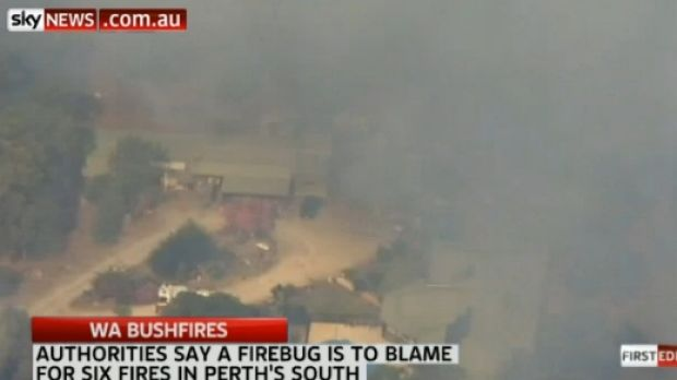 WA Police offered a $50,000 reward to identify firebug involved in the Baldivis fire.