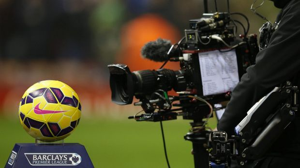 Eyes on the ball: The English Premier League just netted a record pay-day.