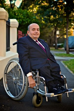 Craig Wallace, president of People with Disability Australia.