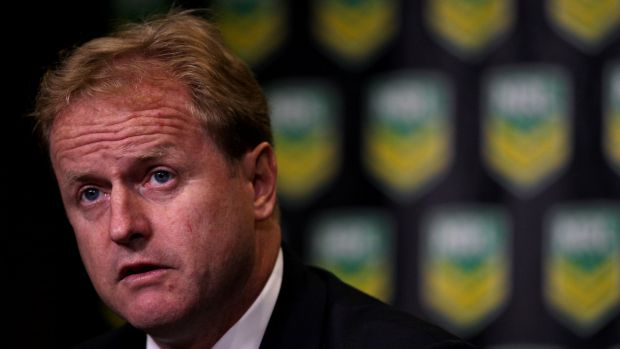 Judgment call: NRL chief executive Dave Smith.