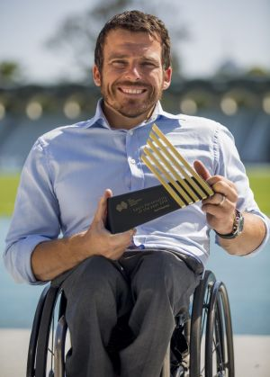 Kurt Fearnley, Australia's Sport Personality of the Year.